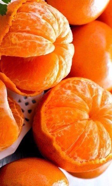 Почищені мандаринки