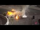 Отец спас гонщика NASCAR из горящей машины