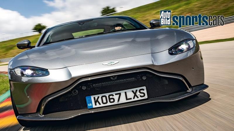 SUPERTEST Wie schnell ist der neue Aston Martin Vantage am Sachsenring - AUTO BILD SPORTSCARS