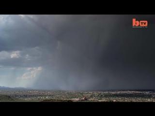 Rain Bomb- Rare 'Wet Microburst' Caught on Camera in Stunning Timelapse.mp4