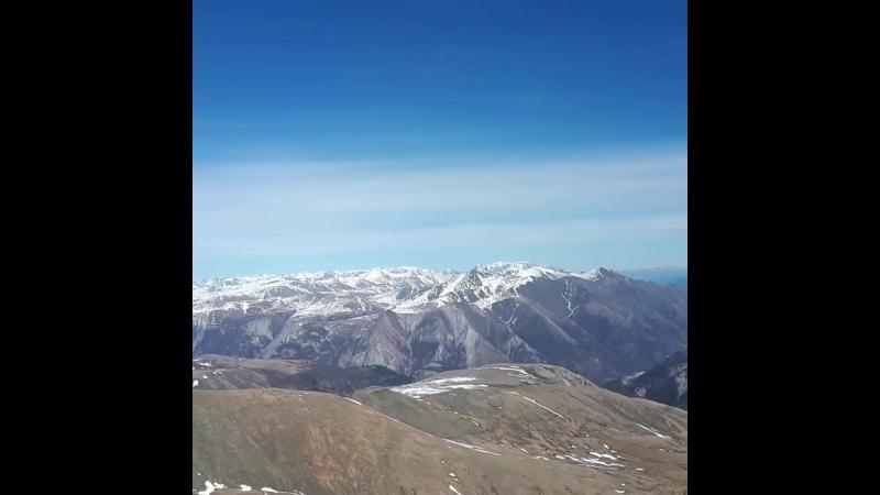 гора Обзорная Монды 2900 м над уровнем моря