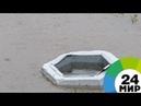 Дожди превратили поселок Рощино под Петербургом в большую лужу - МИР 24