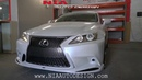 Lexus 3 IS Conversion facelift NIA bumper on your 2 IS DIY