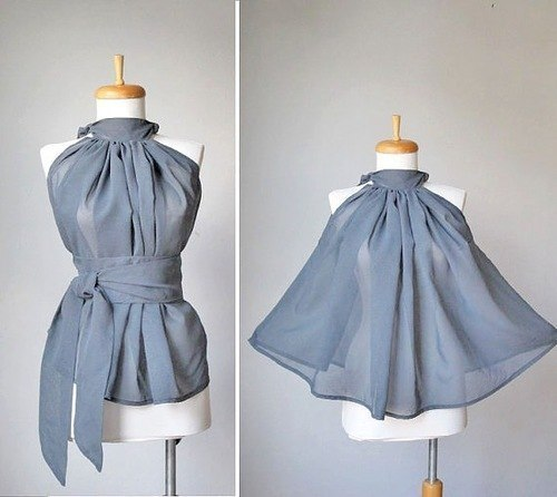 Шьем блузку. (2 фото) - картинка