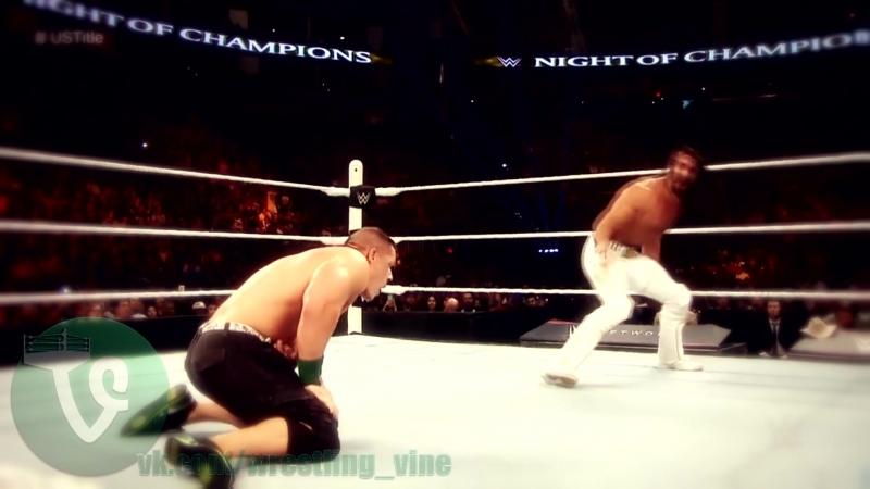 Seth Rollins Vs John Cena - Night of Champions 2015