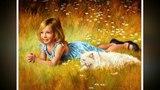 Дети на картинах художника Джим Дейли!..