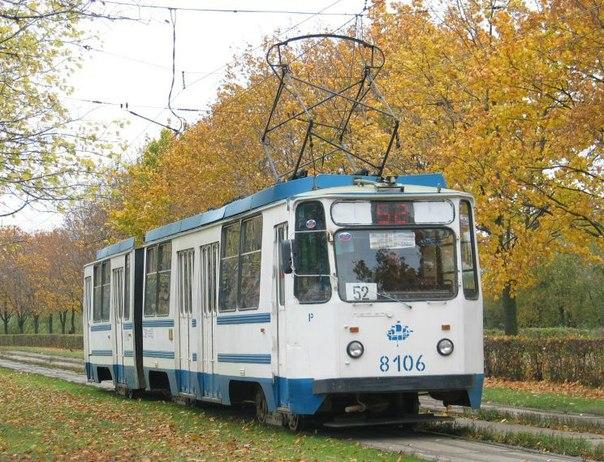 Эти трамвайные вагоны ЛВС-97