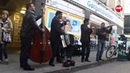 Flashmob with Taraf de Haïdouks in Stockholm