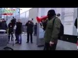 Возле посольства США в Киеве провели пикет и сожгли портрет Нуланд