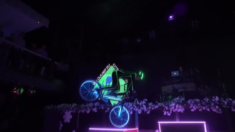 Световое велошоу