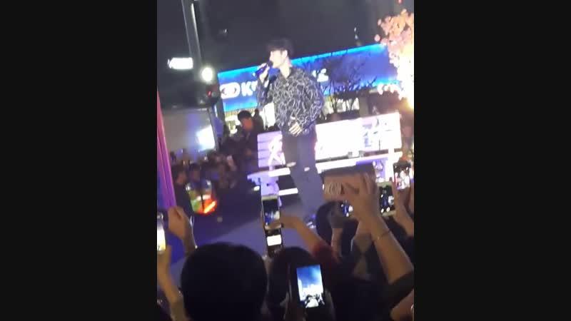 Ким Джон Кук. Концерт Romantic Party в Пхохане. (13.10.2018)