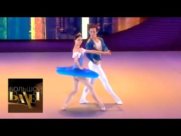 Радка Приходова Адам Звонар Па де де из балета Раймонда Большой балет 2018