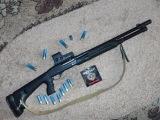МР-133, МР-155, МР-153 тюнинг,обзор, модификация.(Shotgun MP-133,153,155 Mod in Benelli M4).