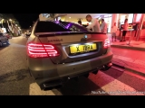 Brabus E850 w_Decat Exhaust Start, Revving and Acceleration Sound