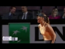 Maria Sharapova progresses to the InteBNLdItalia third round Defeats Dominika Cibulkova 3 6 6 4 6 2