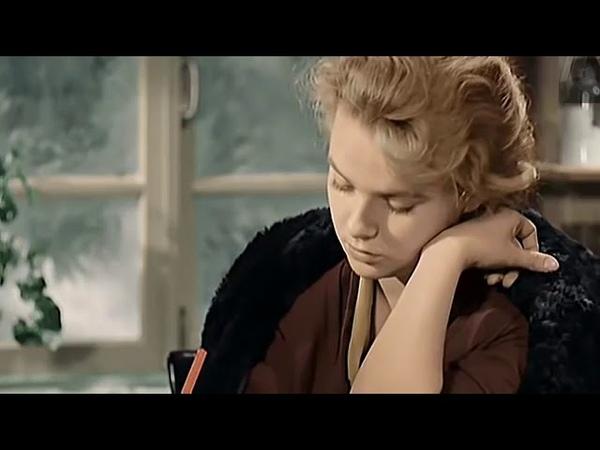 Николай Рыбников поёт песню из фильмаВесна на Заречной улице, 1956 года