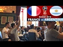 France 4-3 Argentina   Sports Bar reaction   End of the Road for Messi   FIFA World Cup 2018 Vlog