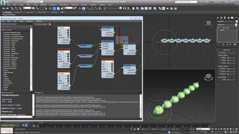 3ds Max - MCG - Creating a Clone Modifier - Part 3 - UI Customization