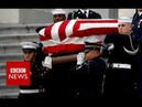 America bids farewell to George HW Bush - BBC News