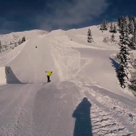 Free flight SnowboardinG