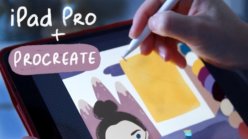 IPad Pro| PROCREATE| Иллюстрация SpeedPaint