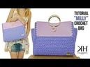 TUTORIAL BORSA UNCINETTO MILLY PUNTO SUZETTE CROCHET ● Katy Handmade
