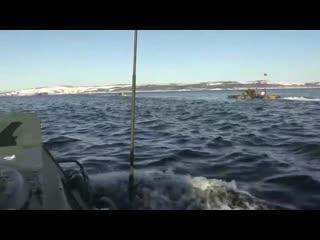 Подготовка морпехов Северного флота к конкурсу
