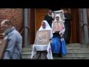 Выход Крестного хода из храма в г Боровск малый Крестный ход к часовне Боярыни Морозовой 24 09 2018 г