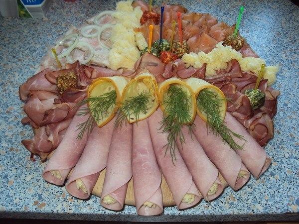 Как красиво сделать мясную нарезку