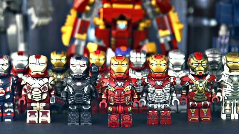 Custom LEGO IRON MAN Collection 2018