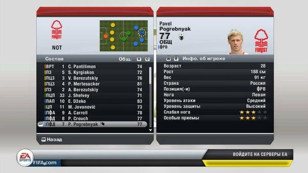 FIFA 13 Схема игры за Челси.