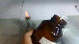 Химические опыты дома - проба Бейльштейна с хлоридом аммония.