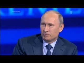 Путин, прямая линия 2013, спортсмены-инвалиды, паралимпийцы