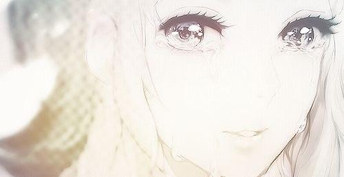 аниме девушки с светлыми волосами: