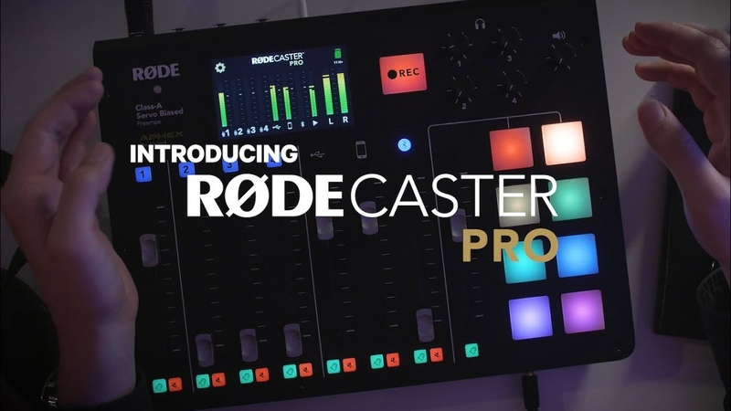 An overview of the RØDECaster Pro - Podcast Production Studio
