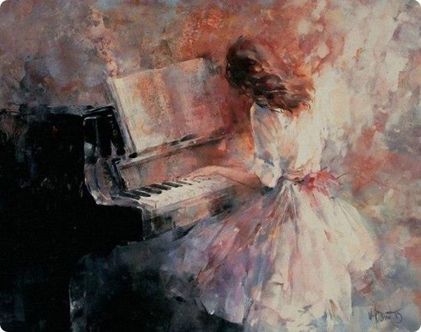 - Музыка глушит печаль.. © Уильям Шекспир Художник - Willem Haenraets