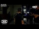 Конор Макгрегор за кулисами после победы над Нэйтом Диазом на UFC 202