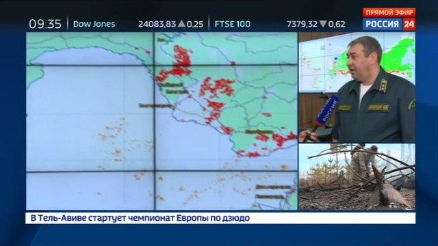 Новости на «Россия 24» • Глава Авиалесоохраны: самая сложная ситуация с пожарами сложилась в Амурской области