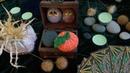 Тыква крючком №1 ХЭЛЛОУИН ♥ Мастер-класс ♥ Вязаная тыква ♥ Halloween Pumpkin ♥ Crochetka Design DIY