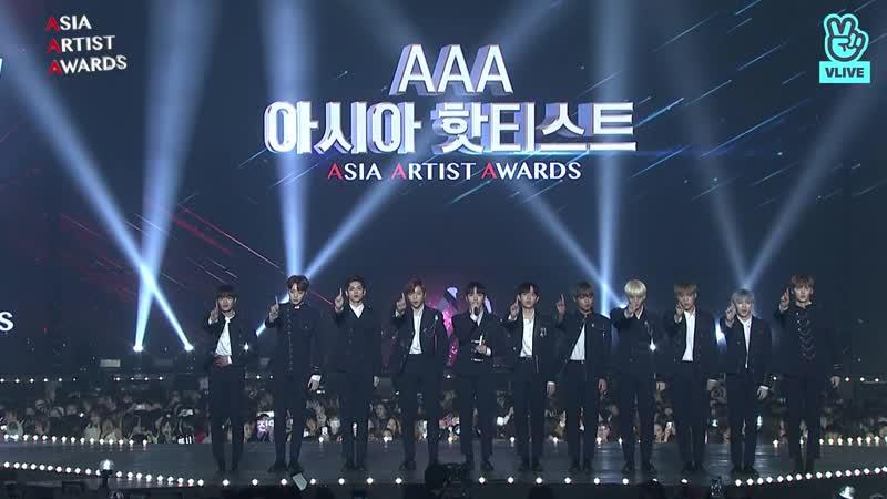 181128 Asia Hot Artist Music (아시아 핫티스트 가수 부문) - Wanna One (워너원)