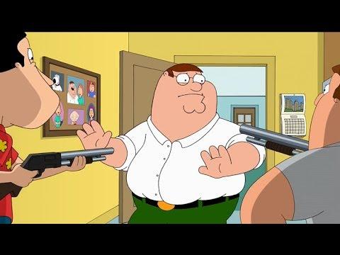 Гриффины - Куагмир и Джо планируют убить Питера
