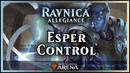 Esper Control Overcorrected for Red Ravnica Allegiance Standard Magic Arena