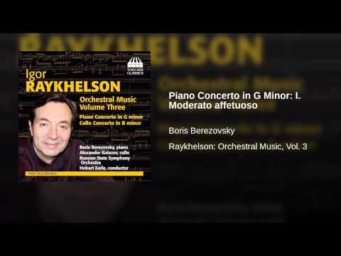 Piano Concerto in G Minor: I. Moderato affetuoso