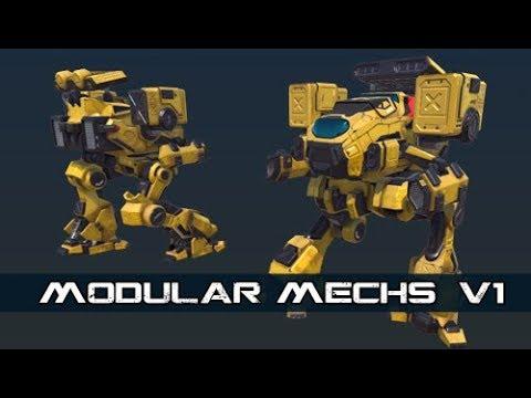PBR Modular mechs v1 promo