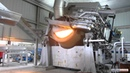 Tilting Rotary Furnace with Bucket Charger