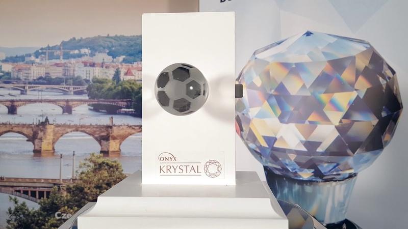 Дверная ручка Onyx Krystal Premium B6016 CL CP