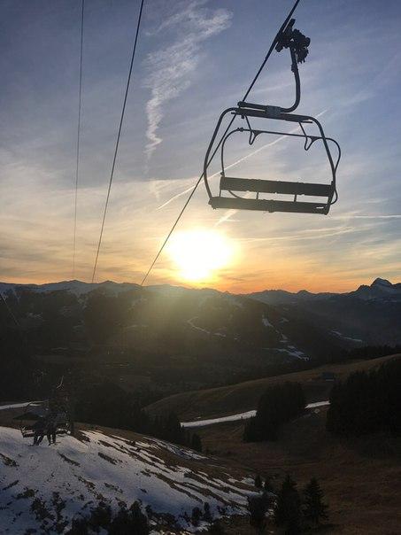 Андрей Рогозов: Настоящего снега в Альпах в декабре почти нет.
