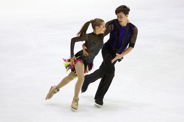 Анастасия Шпилевая - Григорий Смирнов/ танцы на льду DKVjLNe9cCY