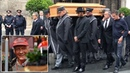 Niki Lauda Coffin Carried Out Of Cathedral