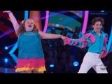 Alana Honey Boo Boo Thompson &amp Tristan Ianiero - Dancing With The Stars Juniors Episode 1
